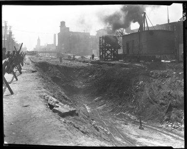 Rapid Transit Photographs -- Box 13, Folder 15 (April 9, 1920 - April 21, 1920) -- negative, 1920-04-09, 11:07 A.M.