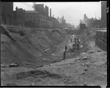 Rapid Transit Photographs -- Box 13, Folder 15 (April 9, 1920 - April 21, 1920) -- negative, 1920-04-09, 11:18 A.M.