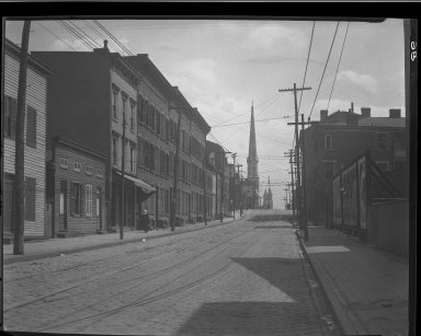 Rapid Transit Photographs -- Box 13, Folder 15 (April 9, 1920 - April 21, 1920) -- negative, 1920-04-09, 11:34 A.M.