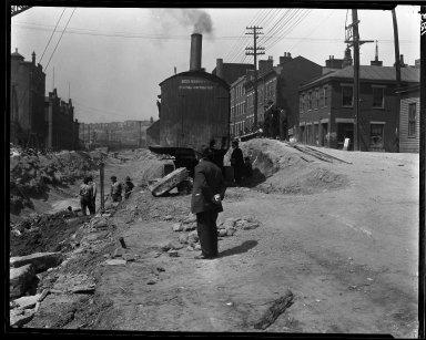 Rapid Transit Photographs -- Box 13, Folder 21 (May 4, 1920 - May 5, 1920) -- negative, 1920-05-04, 2:18 P.M.