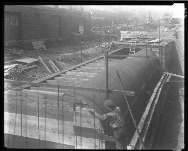 Rapid Transit Photographs -- Box 14, Folder 04 (August 4, 1920 - August 13, 1920) -- negative, 1920-08-13, 10:50 A.M.