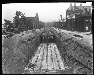 Rapid Transit Photographs -- Box 14, Folder 06 (August 17, 1920 - August 25, 1920) -- negative, 1920-08-17, 12:25 P.M.