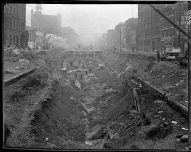 Rapid Transit Photographs -- Box 14, Folder 36 (January 24, 1921 - February 2, 1921) -- negative, 1921-02-02, 2:15 P.M.