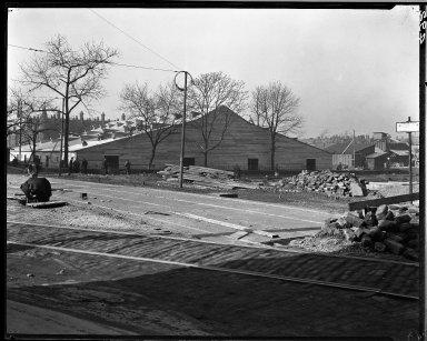 Rapid Transit Photographs -- Box 14, Folder 38 (February 3, 1921) -- negative, 1921-02-03, 11:45 A.M.
