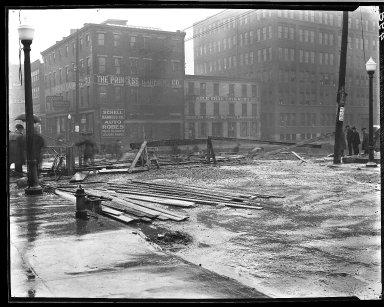 Rapid Transit Photographs -- Box 14, Folder 39 (February 3, 1921 - February 14, 1921) -- negative, 1921-02-07, 8:38 A.M.