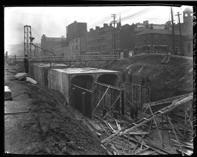Rapid Transit Photographs -- Box 14, Folder 44 (February 26, 1921 - March 3, 1921) -- negative, 1921-03-03, 10:01 A.M.
