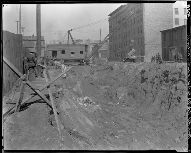 Rapid Transit Photographs -- Box 15, Folder 01 (March 10, 1921) -- negative, 1921-03-10, 11:16 A.M.