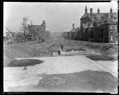 Rapid Transit Photographs -- Box 15, Folder 05 (March 22, 1921 - March 25, 1921) -- negative, 1921-03-25, 9:50 A.M.