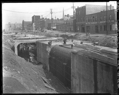 Rapid Transit Photographs -- Box 15, Folder 05 (March 22, 1921 - March 25, 1921) -- negative, 1921-03-25, 10:00 A.M.