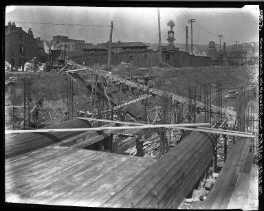 Rapid Transit Photographs -- Box 15, Folder 05 (March 22, 1921 - March 25, 1921) -- negative, 1921-03-25, 10:39 A.M.