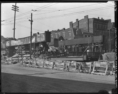 Rapid Transit Photographs -- Box 15, Folder 23 (May 9, 1921 - May 16, 1921) -- negative, 1921-05-09, 3:38 P.M.