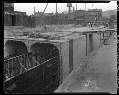 Rapid Transit Photographs -- Box 15, Folder 32 (June 17, 1921 - June 23, 1921) -- negative, 1921-06-17, 11:11 A.M.