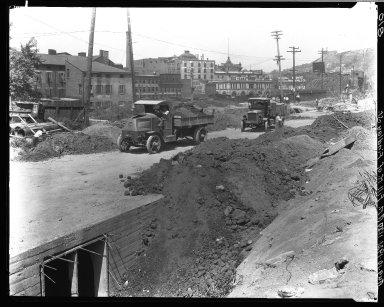 Rapid Transit Photographs -- Box 16, Folder 04 (August 10, 1921) -- negative, 1921-08-10, 10:50 A.M.