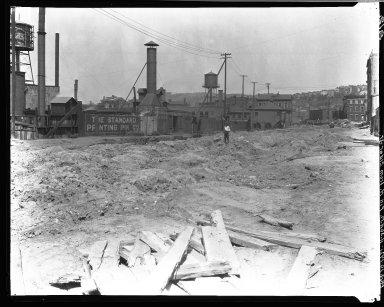 Rapid Transit Photographs -- Box 16, Folder 05 (August 10, 1921 - August 16, 1921) -- negative, 1921-08-10, 11:30 A.M.