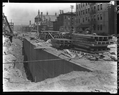 Rapid Transit Photographs -- Box 16, Folder 05 (August 10, 1921 - August 16, 1921) -- negative, 1921-08-10, 11:48 A.M.