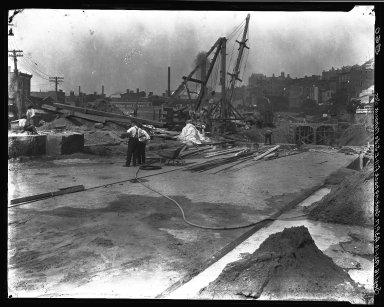 Rapid Transit Photographs -- Box 16, Folder 13 (September 16, 1921 - September 19, 1921) -- negative, 1921-09-16, 10:43 A.M.
