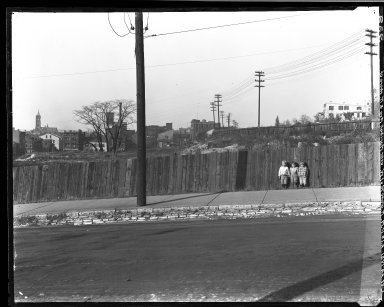 Rapid Transit Photographs -- Box 16, Folder 22 (October 21, 1921 - October 24, 1921) -- negative, 1921-10-24, 2:10 P.M.