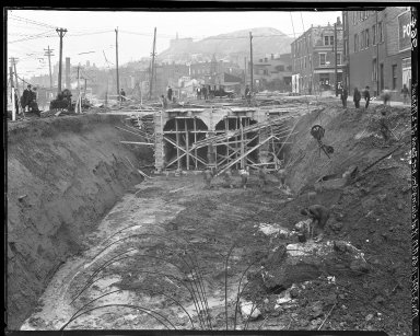 Rapid Transit Photographs -- Box 16, Folder 25 (November 3, 1921) -- negative, 1921-11-03, 10:56 A.M.