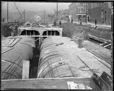 Rapid Transit Photographs -- Box 16, Folder 29 (November 15, 1921 - November 22, 1921) -- negative, 1921-11-15, 10:44 A.M.