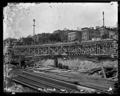 Rapid Transit Photographs -- Box 17, Folder 07 (Apr 28, 1922 - May 5, 1922) -- negative, 1922-04-28, 3:03 P.M.