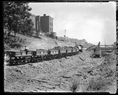 Rapid Transit Photographs -- Box 17, Folder 17 (June 9, 1922 - June 14, 1922) -- negative, 1922-06-12, 2:54 P.M.