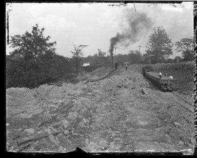 Rapid Transit Photographs -- Box 17, Folder 22 (September 21, 1922 - October 24, 1922) -- negative, 1922-09-29, 2:44 P.M.