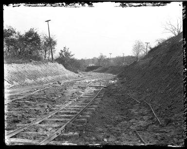 Rapid Transit Photographs -- Box 17, Folder 23 (October 24, 1922 - November 9, 1922) -- negative, 1922-10-24, 10:10 A.M.