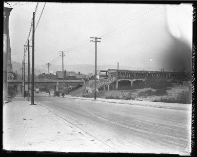 Rapid Transit Photographs -- Box 17, Folder 28 (June 29, 1923 - November 22, 1923, Undated) -- negative, 1923-11-22, 10:07 A.M.