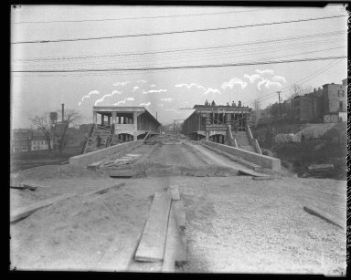 Rapid Transit Photographs -- Box 17, Folder 28 (June 29, 1923 - November 22, 1923, Undated) -- negative, 1923-11-22, 10:21 A.M.
