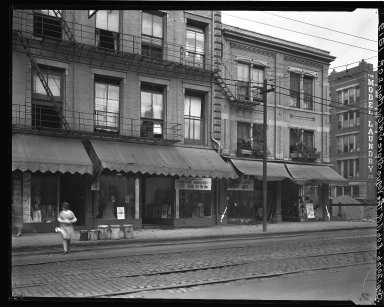Rapid Transit Photographs -- Box 18, Folder 37 (September 18, 1926 - September 20, 1926) -- negative, 1926-09-20, 8:06 A.M.