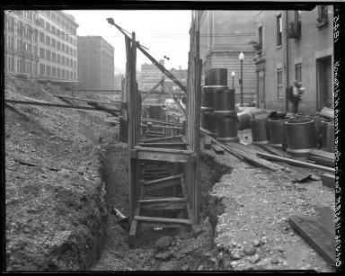 Rapid Transit Photographs -- Box 18, Folder 41 (September 24, 1926 - October 5, 1926) -- negative, 1926-10-05, 11:45 A.M.