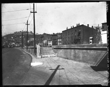 Rapid Transit Photographs -- Box 18, Folder 43 (October 14, 1926 - October 15, 1926) -- negative, 1926-10-15, 11:40 A.M.