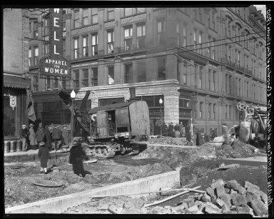 Rapid Transit Photographs -- Box 19, Folder 04 (November 12, 1926) -- negative, 1926-11-12, 2:50 P.M.