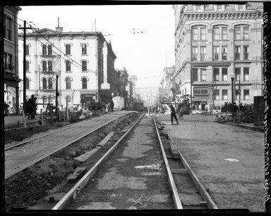 Rapid Transit Photographs -- Box 19, Folder 04 (November 12, 1926) -- negative, 1926-11-12, 2:57 P.M.