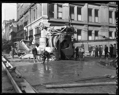 Rapid Transit Photographs -- Box 19, Folder 04 (November 12, 1926) -- negative, 1926-11-12, 3:05 P.M.