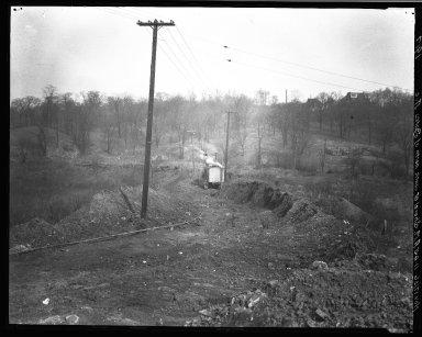 Rapid Transit Photographs -- Box 19, Folder 07 (November 17, 1922 - November 22, 1926) -- negative, 1926-11-17, 11:45 A.M.