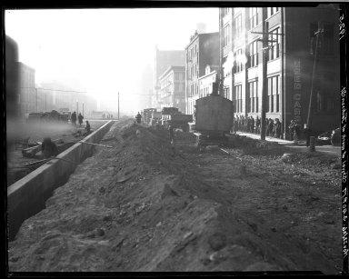 Rapid Transit Photographs -- Box 19, Folder 08 (November 22, 1926) -- negative, 1926-11-22, 3:40 P.M.