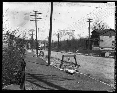 Rapid Transit Photographs -- Box 19, Folder 24 (April 6, 1927) -- negative, 1927-04-06, 10:55 A.M.
