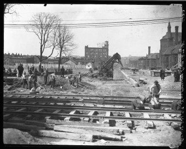 Rapid Transit Photographs -- Box 19, Folder 25 (April 6, 1927) -- negative, 1927-04-06, 2:30 P.M.