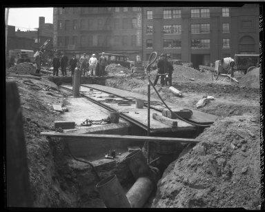 Rapid Transit Photographs -- Box 19, Folder 27 (April 7, 1927 - April 11, 1927) -- negative, 1927-04-11, 12:15 P.M.