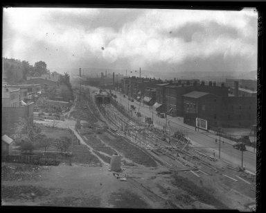 Rapid Transit Photographs -- Box 20, Folder 06 (July 12, 1927) -- negative, 1927-07-12, 11:57 A.M.