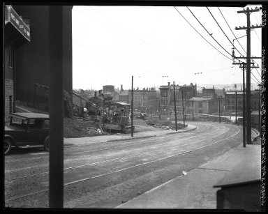 Rapid Transit Photographs -- Box 20, Folder 13 (July 29, 1927) -- negative, 1927-07-29, 3:00 P.M.