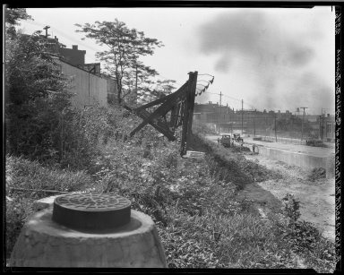 Rapid Transit Photographs -- Box 20, Folder 14 (August 2, 1927) -- negative, 1927-08-02, 10:20 A.M.