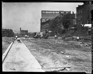 Rapid Transit Photographs -- Box 20, Folder 15 (August 2, 1927 - August 18, 1927) -- negative, 1927-08-02, 10:54 A.M.