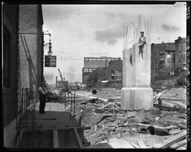 Rapid Transit Photographs -- Box 20, Folder 15 (August 2, 1927 - August 18, 1927) -- negative, 1927-08-02, 11:03 A.M.