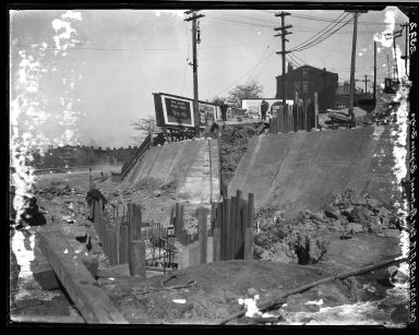 Rapid Transit Photographs -- Box 20, Folder 22 (October 21, 1927) -- negative, 1927-10-21, 10:59 A.M.