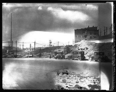 Rapid Transit Photographs -- Box 20, Folder 23 (October 21, 1927 - March 5, 1928) -- negative, 1928-03-05, 2:19 P.M.