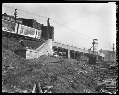 Rapid Transit Photographs -- Box 20, Folder 24 (March 5, 1928 - April 16, 1928) -- negative, 1928-03-05, 3:30 P.M.