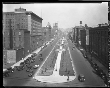 Rapid Transit Photographs -- Box 20, Folder 24 (March 5, 1928 - April 16, 1928) -- negative, 1928-04-16, 3:00 P.M.