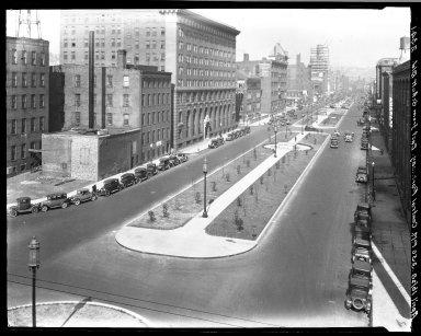 Rapid Transit Photographs -- Box 20, Folder 24 (March 5, 1928 - April 16, 1928) -- negative, 1928-04-16, 3:50 P.M.